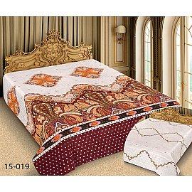 Покрывало Barokko №15-019, белый, золотой