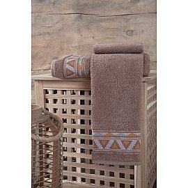 """Полотенце махровое """"KARNA GIZA"""", коричневый, 70*140 см"""