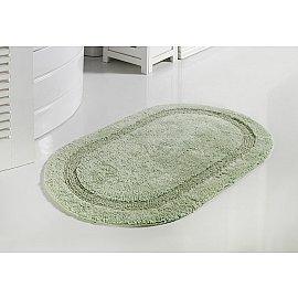 """Коврик для ванной кружевной """"MODALIN RACET"""", светло-зеленый, 60*100 см"""