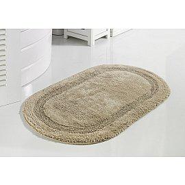 """Коврик для ванной кружевной """"MODALIN RACET"""", бежевый, 60*100 см"""