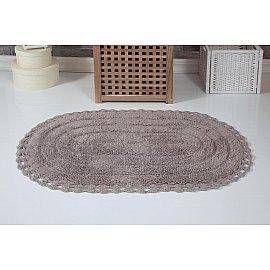 """Коврик для ванной кружевной """"MODALIN YANA"""", мокко, 60*100 см"""