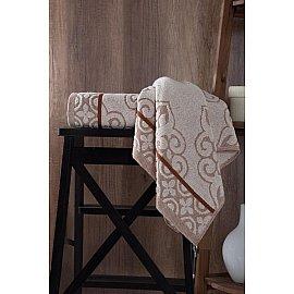 """Полотенце махровое """"KARNA TUNUS"""", коричневый, 70*140 см"""
