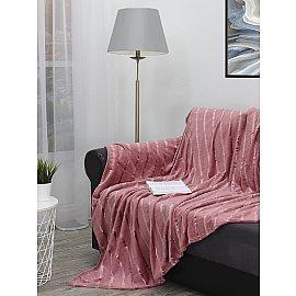 Плед TexRepublic Joy, розовый, 200*220 см