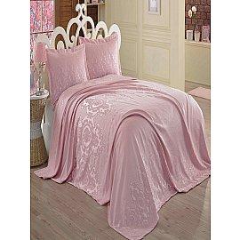 Покрывало Dantela Vita Sardunya, розовый, 260*260 см