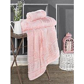 "Полотенце бамбуковое ""KARNA ARMOND"", розовый, 70*140 см"
