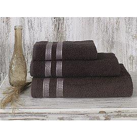 """Полотенце махровое """"KARNA PETEK"""", коричневый, 50*100 см"""