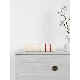 Полотенце махровое TexRepublic Cotton Line, молочный, 50*90 см