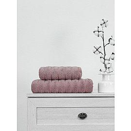 Полотенце махровое жаккард Amore Mio Nero, розовая пудра, 50*90 см