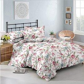 КПБ мако-сатин печатный Pretty (2 спальный), розовый
