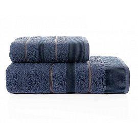 """Комплект махровых полотенец """"KARNA REGAL SET"""" (50*90; 70*140 см), синий"""