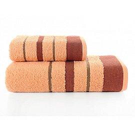 """Комплект махровых полотенец """"KARNA REGAL SET"""" (50*90; 70*140 см), абрикосовый"""