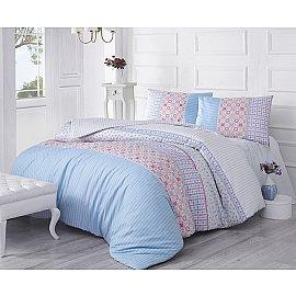"""Комплект постельного белья """"RANFORCE ESPINELA"""", голубой"""