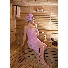 """Набор для сауны женский """"KARNA ARVEN"""", розовый"""