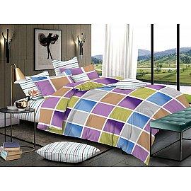 КПБ сатин пигмент Gold Beverly (2 спальный), многоцветный