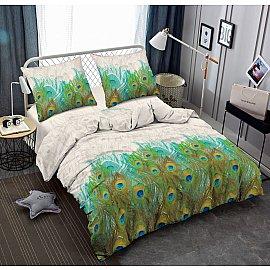 КПБ мако-сатин печатный Image (1.5 спальный), многоцветный