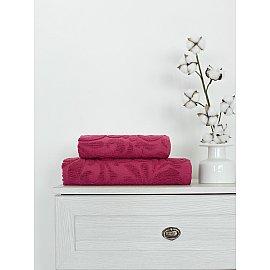 Полотенце жаккард Amore Mio Monogramma, розовый, 50*90 см