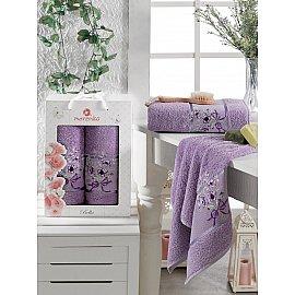 Комплект махровых полотенец MERZUKA BELLA (50*80; 70*130), лиловый