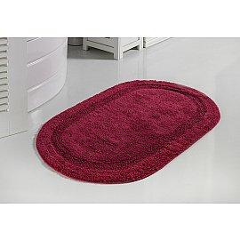 """Коврик для ванной кружевной """"MODALIN RACET"""", бордовый, 60*100 см"""
