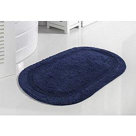 """Коврик для ванной кружевной """"MODALIN RACET"""", синий, 60*100 см"""