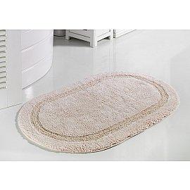 """Коврик для ванной кружевной """"MODALIN RACET"""", розовый, 60*100 см"""