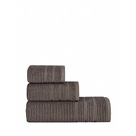 "Полотенце махровое ""KARNA KOLMAR"", коричневый, 70*140 см"