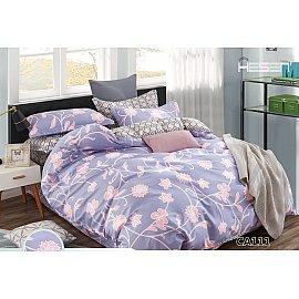 КПБ Сатин печатный дизайн 111 (1.5 спальный)
