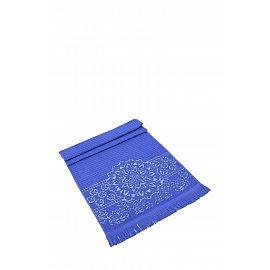 """Полотенце махровое жаккард """"KARNA DURU"""", темно-синий, 70*140 см"""
