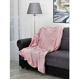 """Плед TexRepublic Elite """"Узор"""", розовый, 200*220 см"""