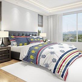 КПБ бязь Eco cotton Sailor (2 спальный)