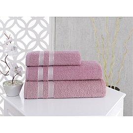 "Полотенце махровое ""KARNA PETEK"", грязно-розовый, 50*100 см"