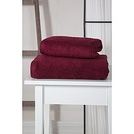 """Полотенце махровое """"KARNA APOLLO"""", бордовый, 70*140 см"""