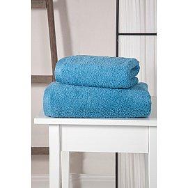 "Полотенце махровое ""KARNA APOLLO"", голубой, 70*140 см"