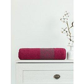 Полотенце махровое TexRepublic Cotton Barok, красный, 70*130 см