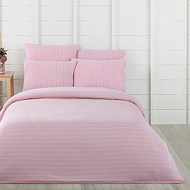 КПБ Arya Softness Jared, розовый (Евро)