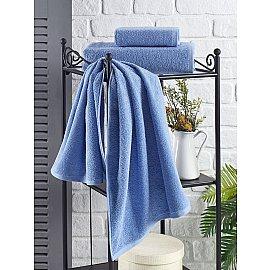 """Полотенце махровое """"KARNA EFOR"""", голубой, 70*140 см"""