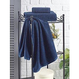 "Полотенце махровое ""KARNA EFOR"", синий, 70*140 см"