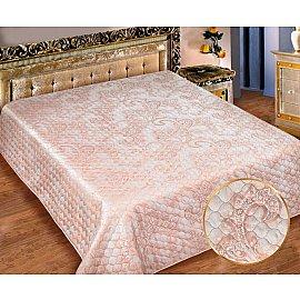 Покрывало I.M.A. Жаккард-атлас №203-1, розовый, 180*220 см