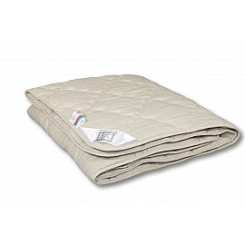 """Одеяло """"Лен"""", всесезонное, бежевый, 172*205 см"""