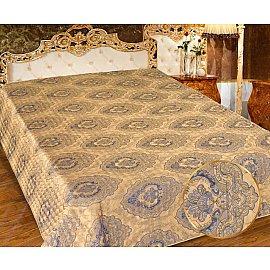 Покрывало I.M.A. Жаккард-атлас №216-1, золотой, синий, 200*220 см