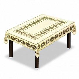 Скатерть №229890-120, кремовый, золотой