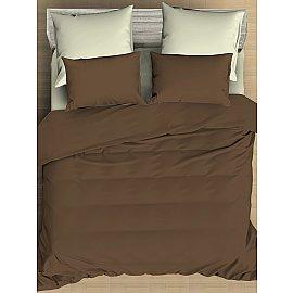 КПБ сатин однотонный Caribou (2 спальный)