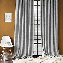 """Комплект штор """"Джуди"""", серый, 140*270 см"""
