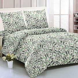 КПБ мако-сатин печатный Greens (2 спальный)