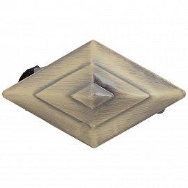 """Держатель-клипса для штор """"Ромб"""", дизайн 124.650, золото антик"""