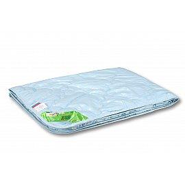 """Одеяло """"Лебяжий пух"""", легкое, голубой, 140*105 см"""