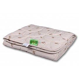 """Одеяло """"Овечья шерсть"""", легкое, кремовый, 140*205 см"""