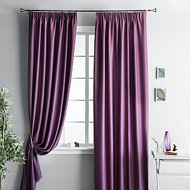 """Комплект штор """"Блэквуд Фиолетовый"""", 140*270 см"""