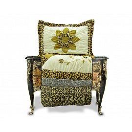 Покрывало Танго PATCHWORK BIG STAR, коричневый, 230*250 см