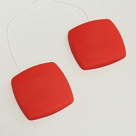 Набор магнитов AL 7 квадратная леска, красный