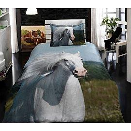 КПБ Бамбук VS 3D Digital дизайн 07 (1.5 спальный)
